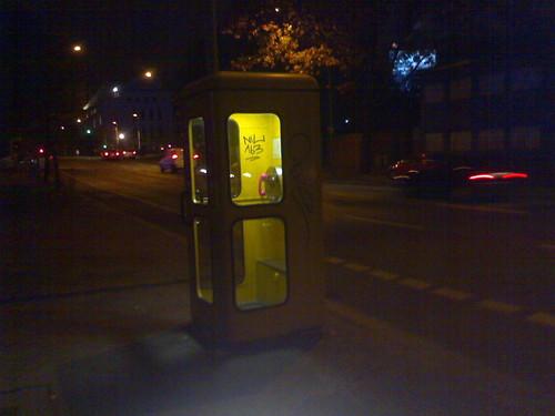 telefonzelle am hamburger bahnhof
