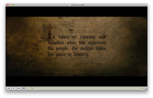 �In times of tyranny and injustice when law oppresses the people, the outlaw takes his place in hist