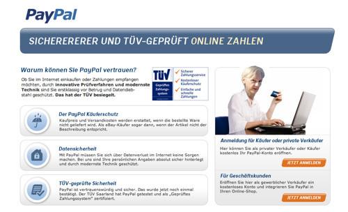 das neue testimonial von paypal