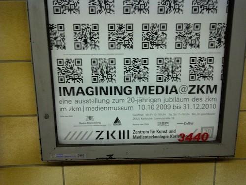 ZKM-Plakat Imaginging Media@ZKM