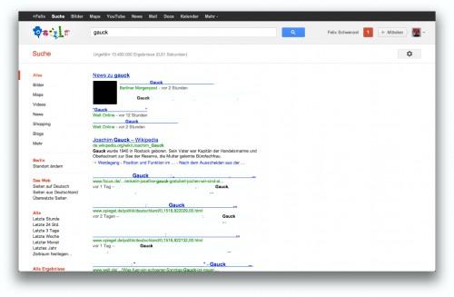 googlesuchergebnis mit presse-leistungsschutz-gesetz