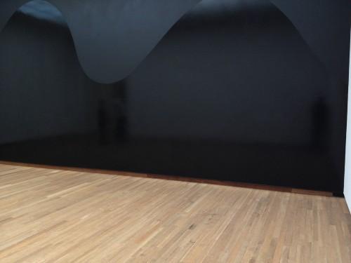 ix und ne schwarze wand (bonnefanten museum maastricht)