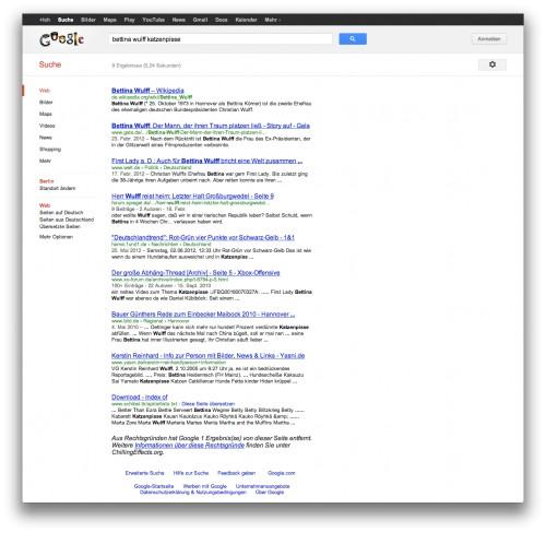 "google-suche nach ""bettina wulff katzenpisse"""