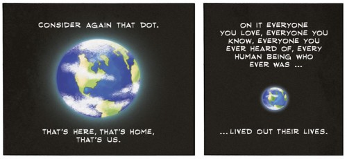 pale blue dot als comic