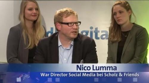 nico lumma: kriegs-direktor soziale medien bei scholz und freunde