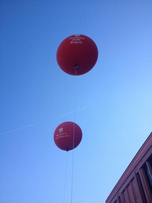 gewerkschafts-ballons