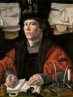 jan gossaert: portrait eines händlers, um 1530