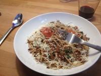 �lsardinen-spagetti � la ezra caldwell