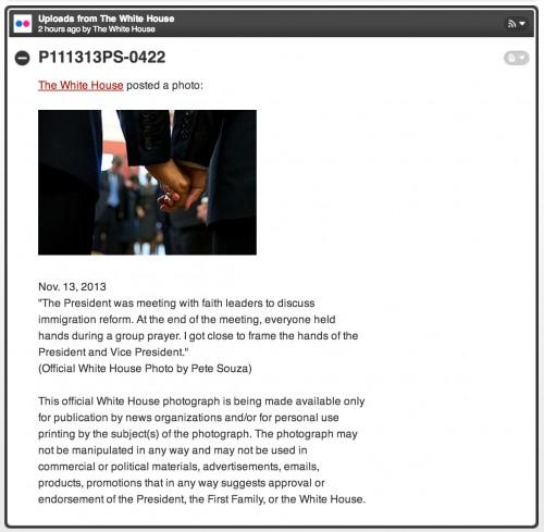joe biden und barack obama halten in meinem RSS-reader h�ndchen