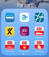 meine �fahren� apps