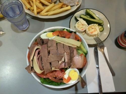 chef salat im square diner