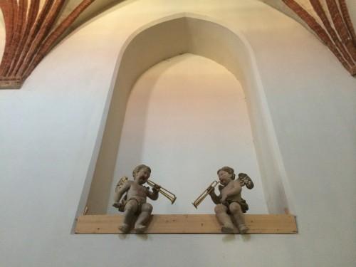 engel in der marienkirche strausberg