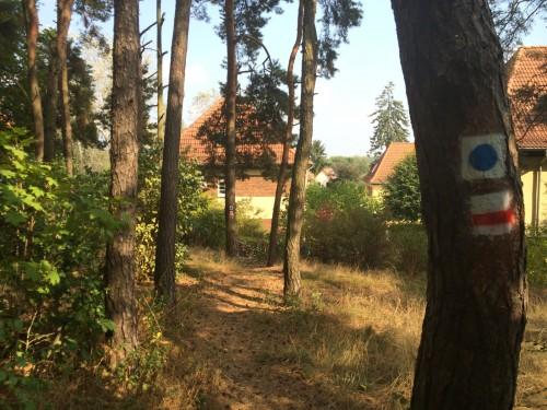 markierungen f�r den 66-seen-wanderweg