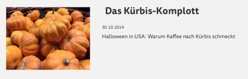 �Das K�rbis-Komplott�