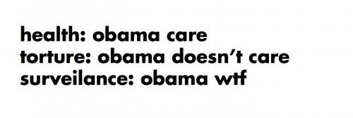 obama care vs. obama doesn�t care
