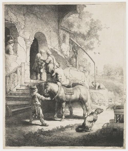 der barmherzige samariter, rembrand, 1633