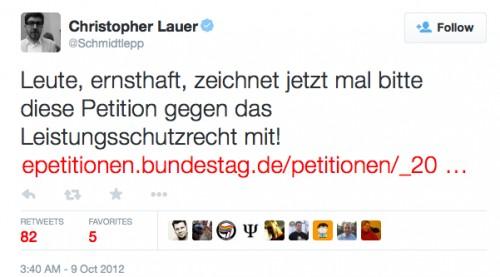 christopher lauer 2012 zum lsr (twitter screenshot)