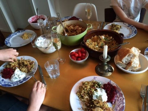abendessen am montag (#latermoblog)