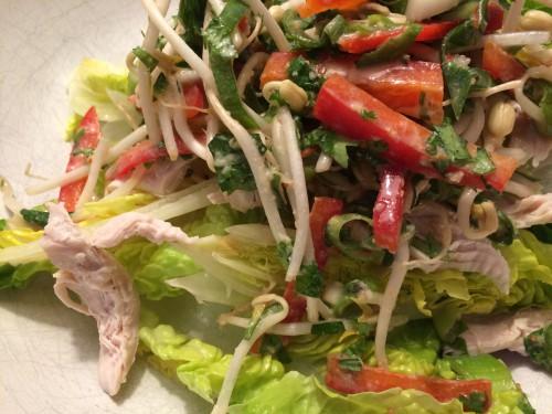 indonesischer h�hnchensalat