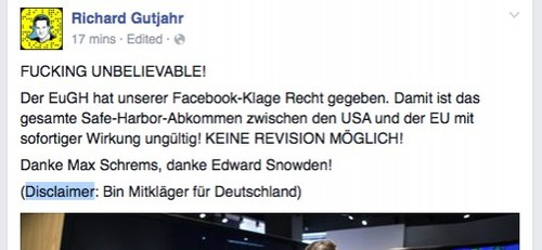 richard gutjahr disclaimt