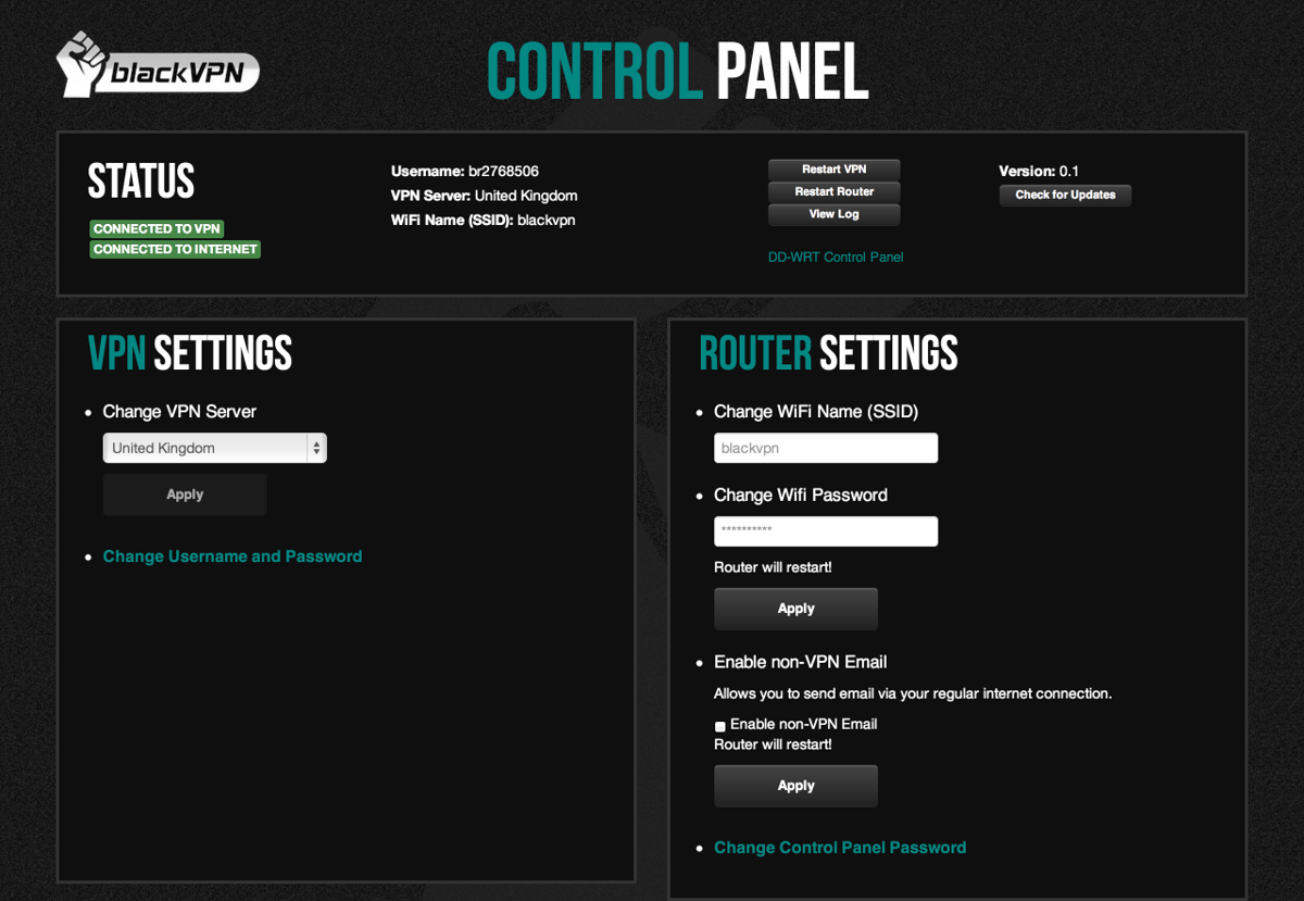 blackvpn-router-interface