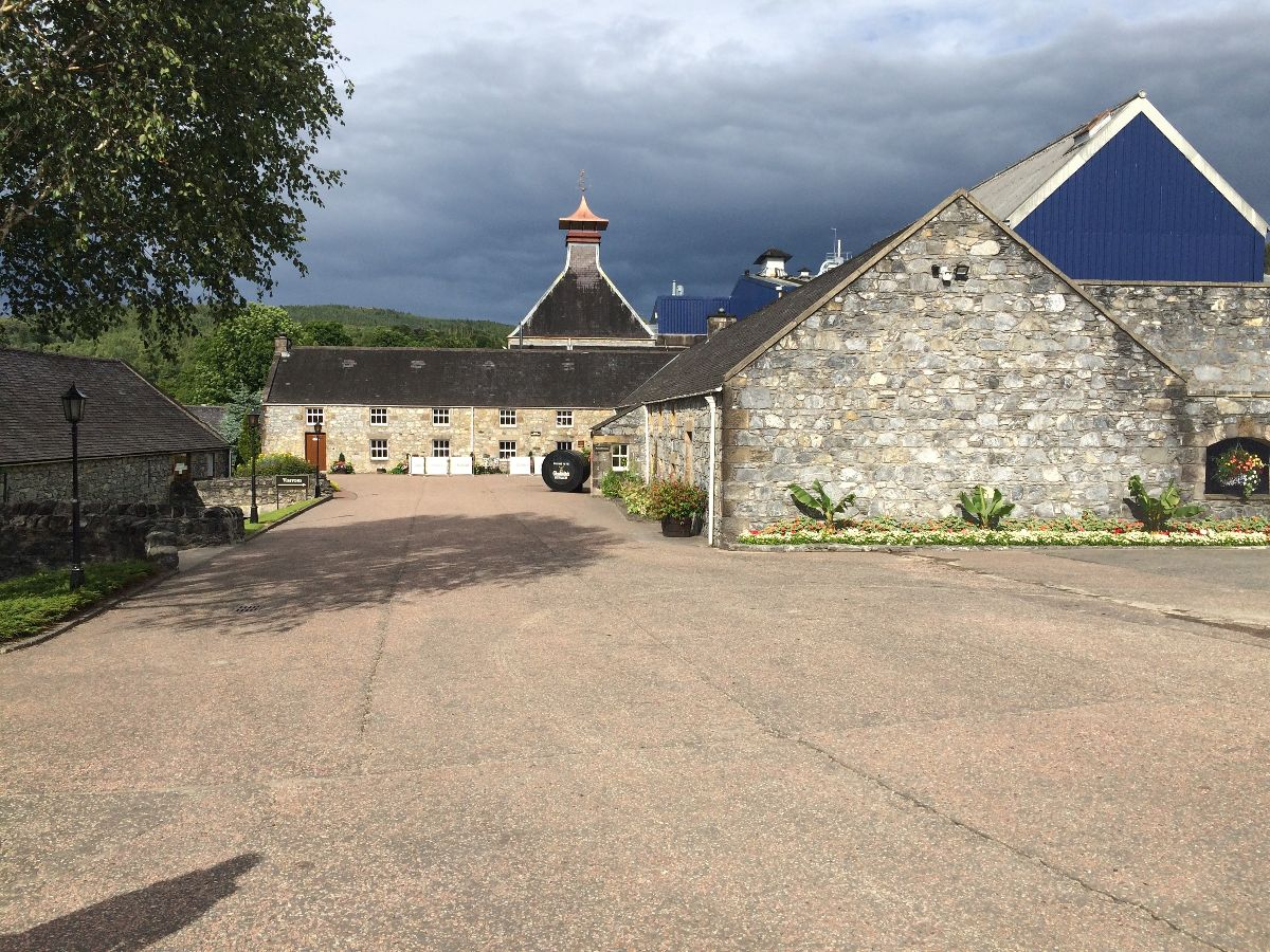 Glenfiddich Besucherzentrum in Dufftown