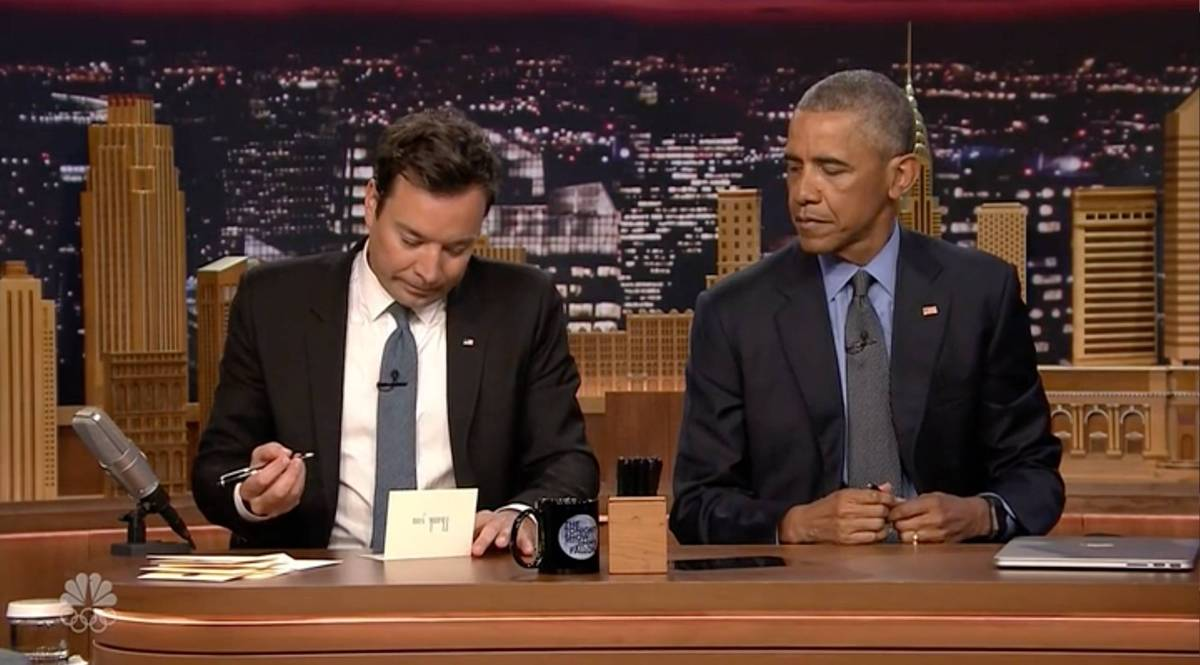 jimmy fallon und barack obama