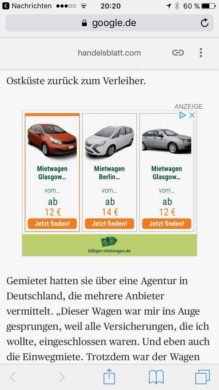 werbung von billiger-mietwagen.de